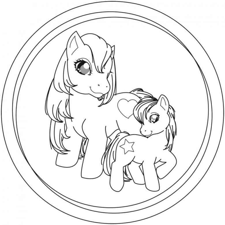 Filly Pferde Malvorlage  Filly  Pinterest