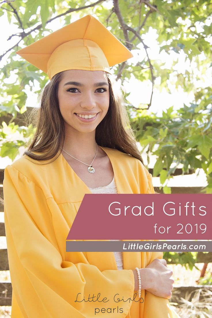 Celebrate your 2019 graduate with a gift that she will be