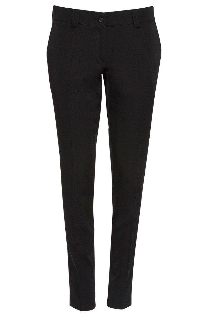 Pantalón Dispone Negro Pasadores Roger De Mujer Para Vestir 4wr4R