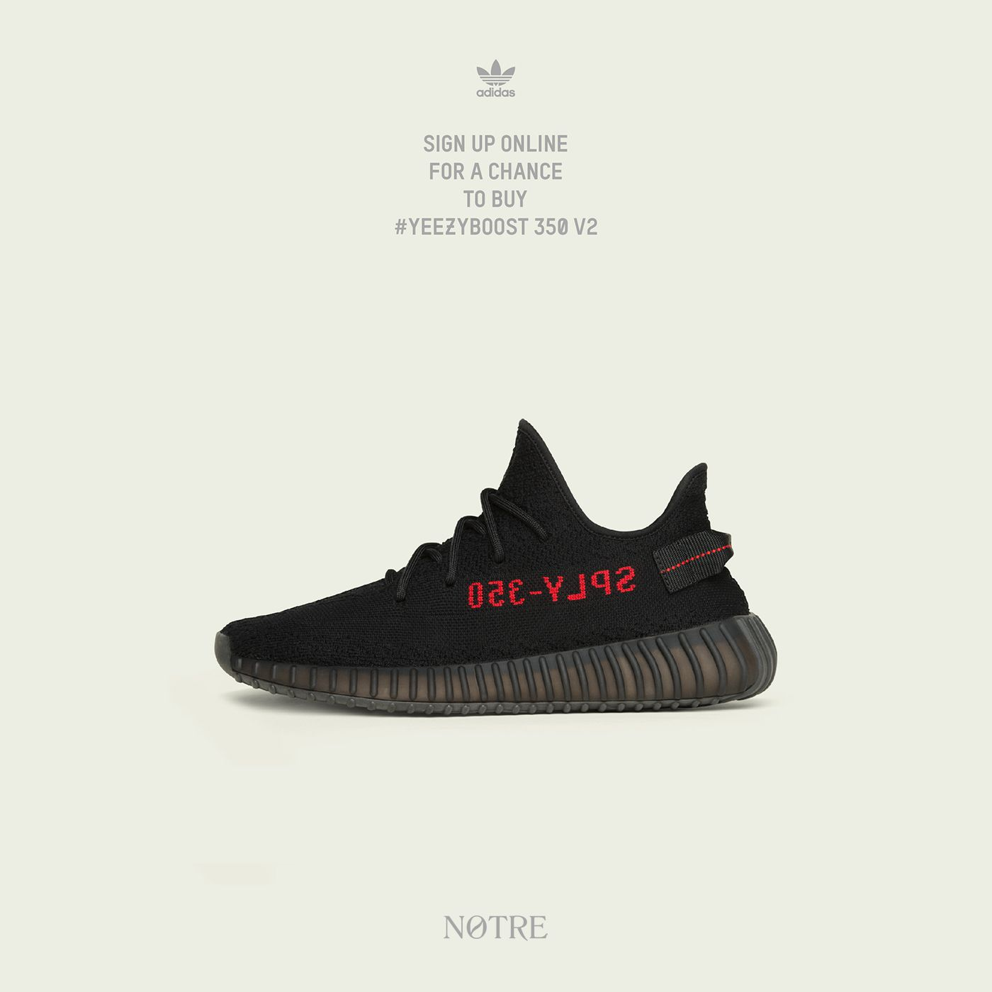 awesome Win adidas X YEEZY 350 V2 Black/Red Sneakers {US} (2