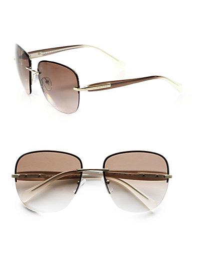 c9840bb0be8 Square Rimless Sunglass Sunglasses Shop