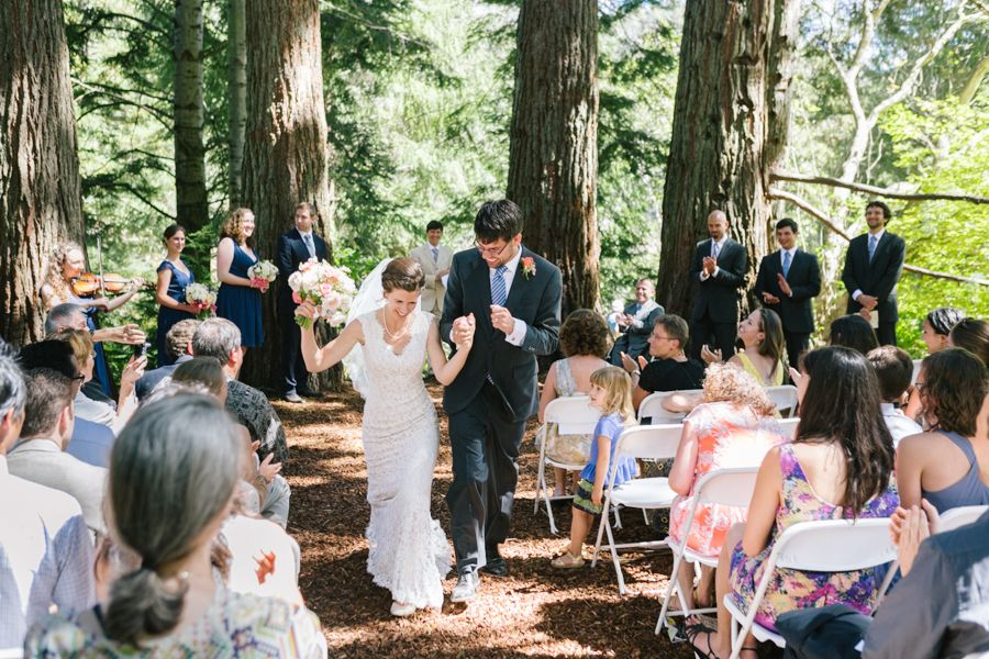 beautiful wedding places in northern california%0A Tilden Park Botanic Garden Wedding Ceremony Sequoia Grove