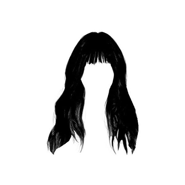 Ios Camera Image Liked On Polyvore Featuring Hair And Black Hair Hair Png Hair Sketch Blue Aesthetic Grunge