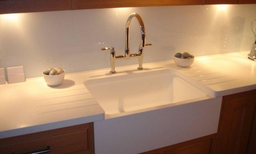 Belfast sink effect using corian sinks photos cduk