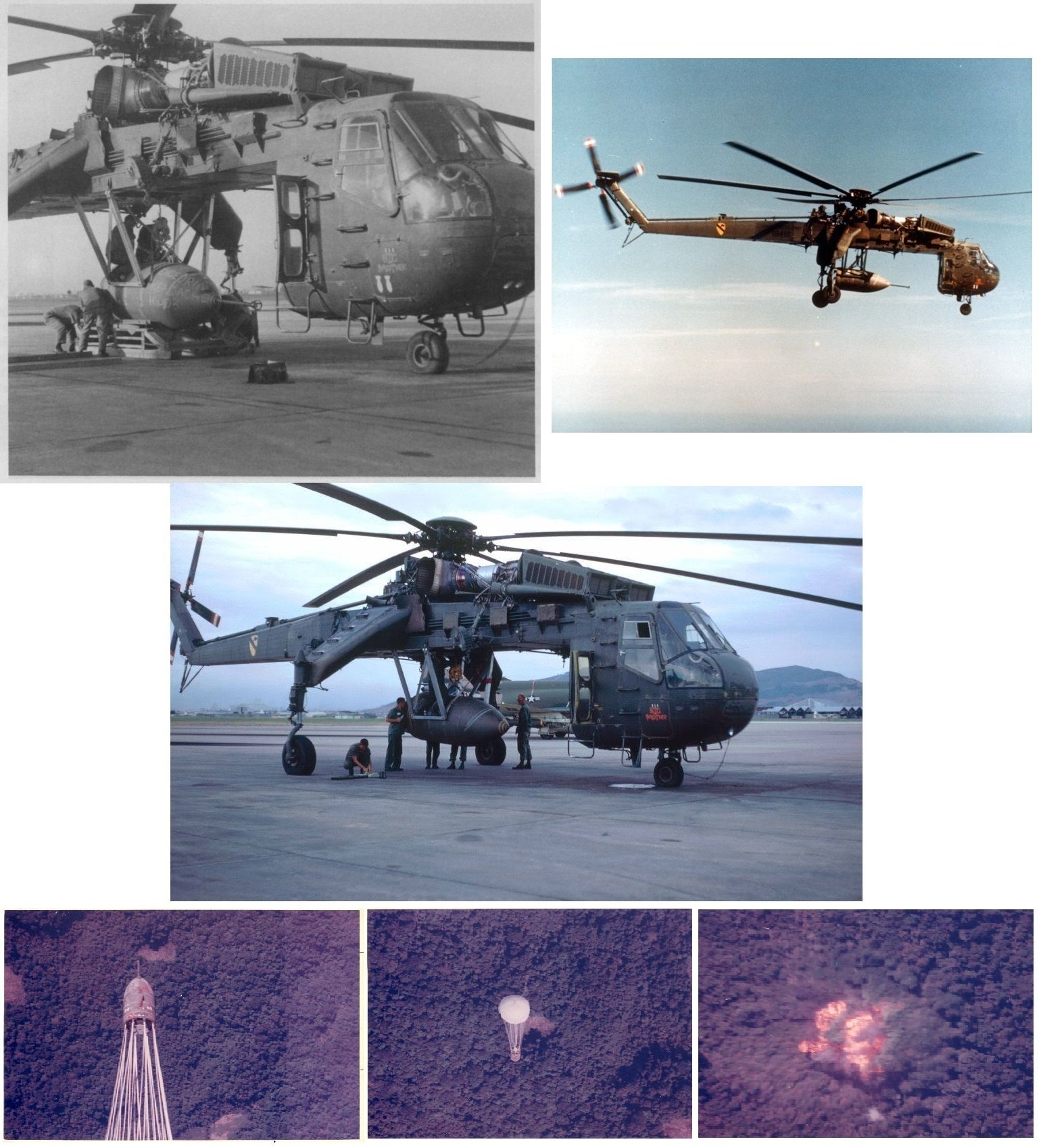 [F] Sikorsky S-64 Skycrane | Sikorsky, Helicopter, Gunship