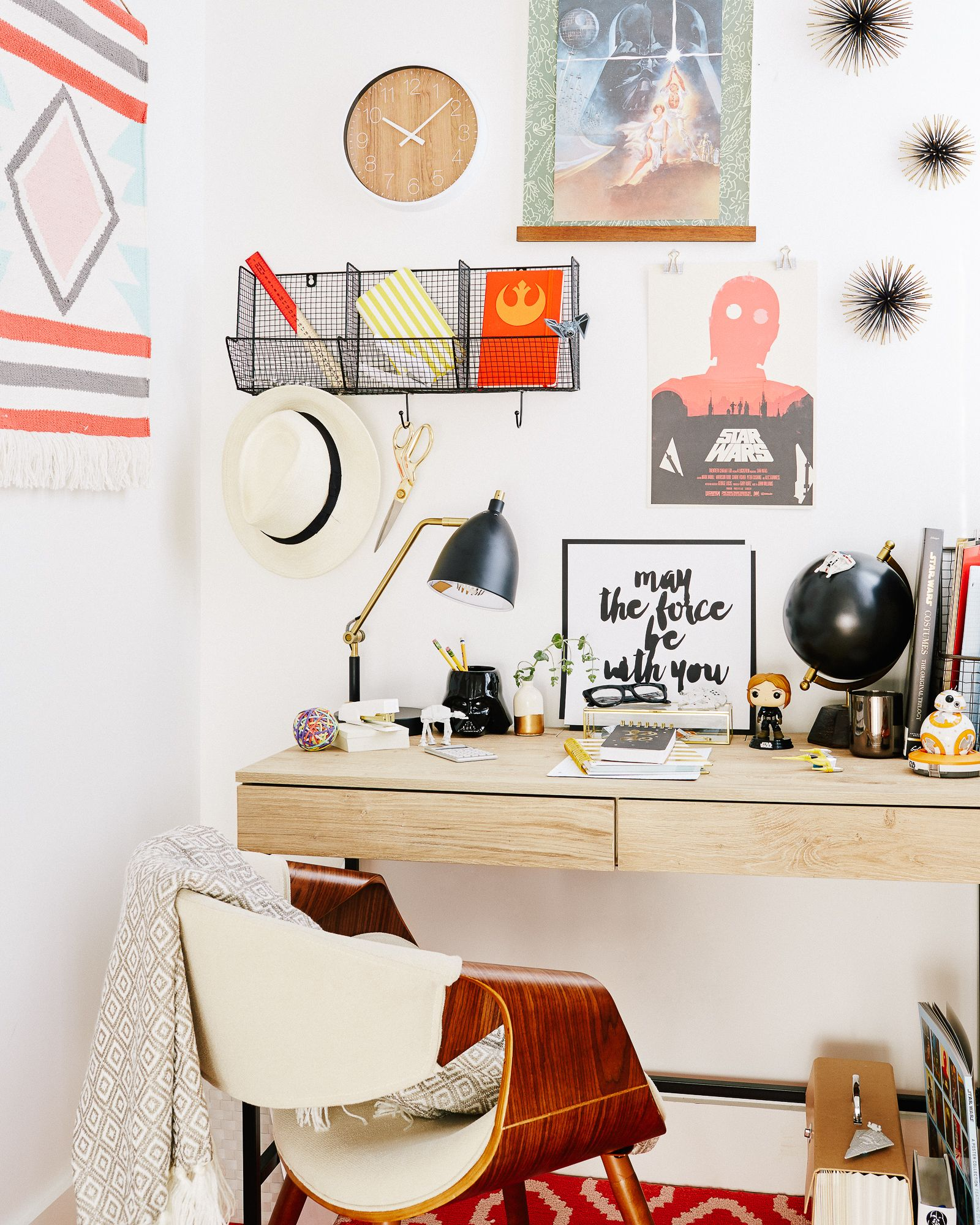 How To Create The Ultimate Star Wars Desk Space Room Room Decor Decor