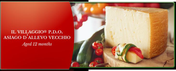 Il Villaggio Asiago D'Allevo Vecchio Cheese