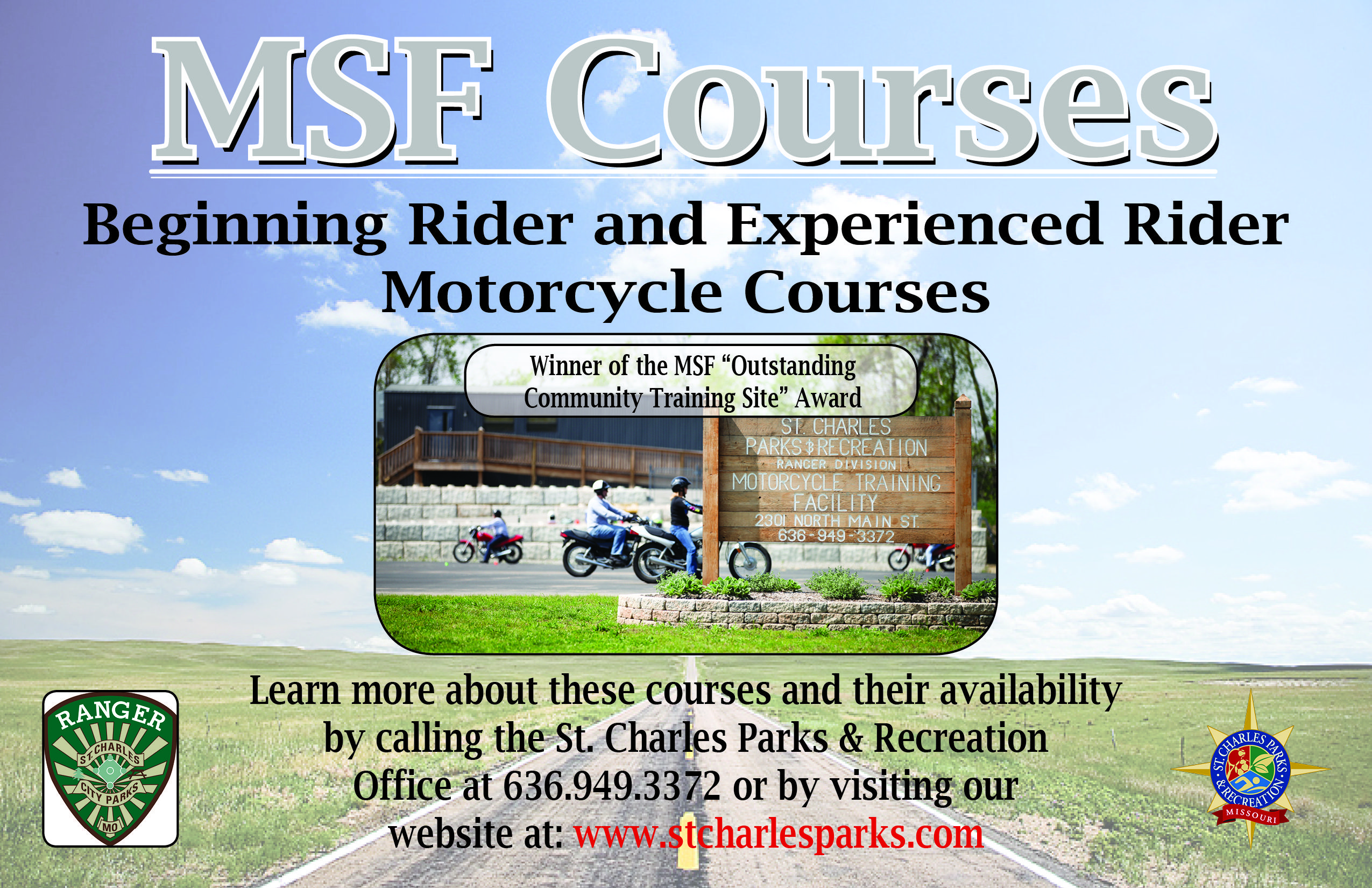 Motorcycle Classes St. Charles, MO (With images) Parks