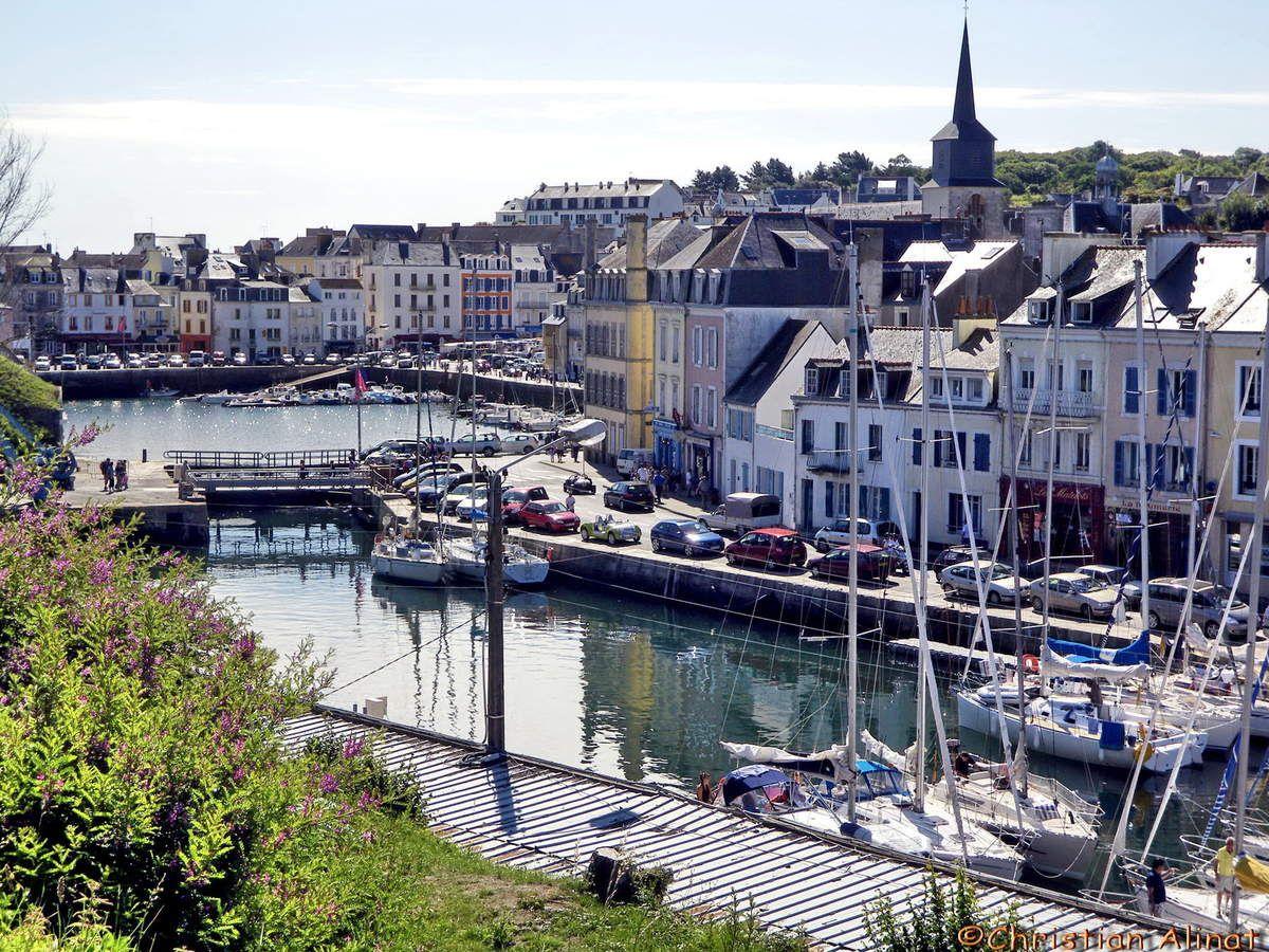 Belle Ile En Mer Vue Sur Le Port Belle Ile En Mer Bienvenue En France Et Voyage De Noce