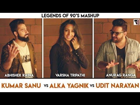 Legends Of 90 S Bollywood Songs Mashup Anurag Ranga Abhishek Raina Varsha Tripathi 90 S Hits Youtu 90s Bollywood Songs Romantic Songs Bollywood Songs