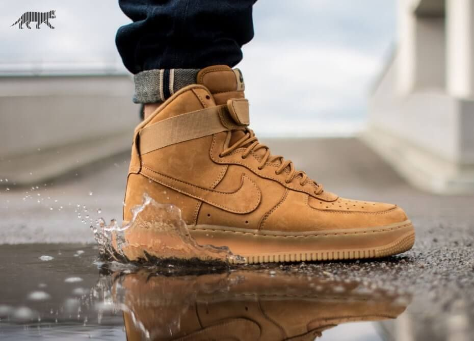 Nike Air Force 1 Hi Flax