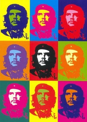 Andy Warhol - che guevara #andywarhol