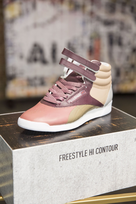 Jasmine Sanders Reebok Freestyle Hi Contour 4 Reebok Freestyle Fashion Tennis Shoes Reebok