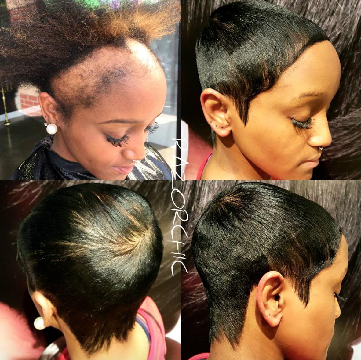Wow Edges Renewed By Razorchicofatlanta Httpcommunity - Edges hair