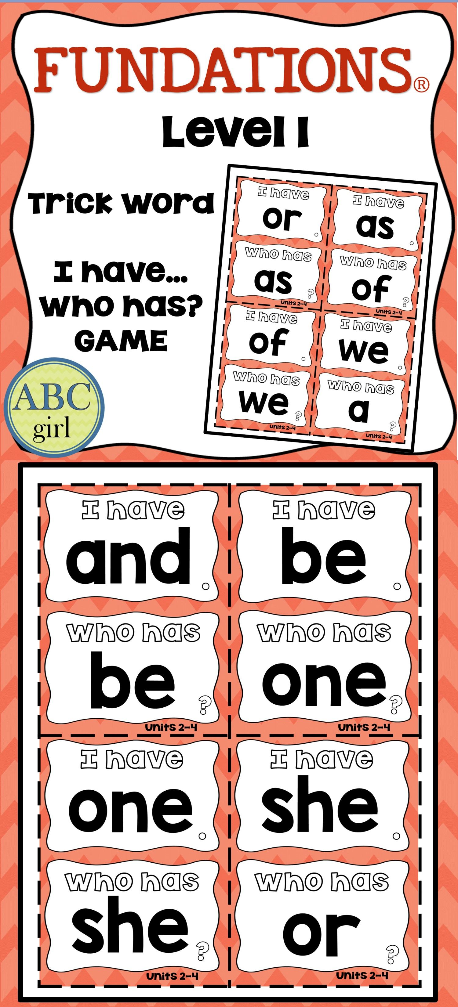 small resolution of Fundations Trick Words Grade 1 Worksheets   Printable Worksheets and  Activities for Teachers