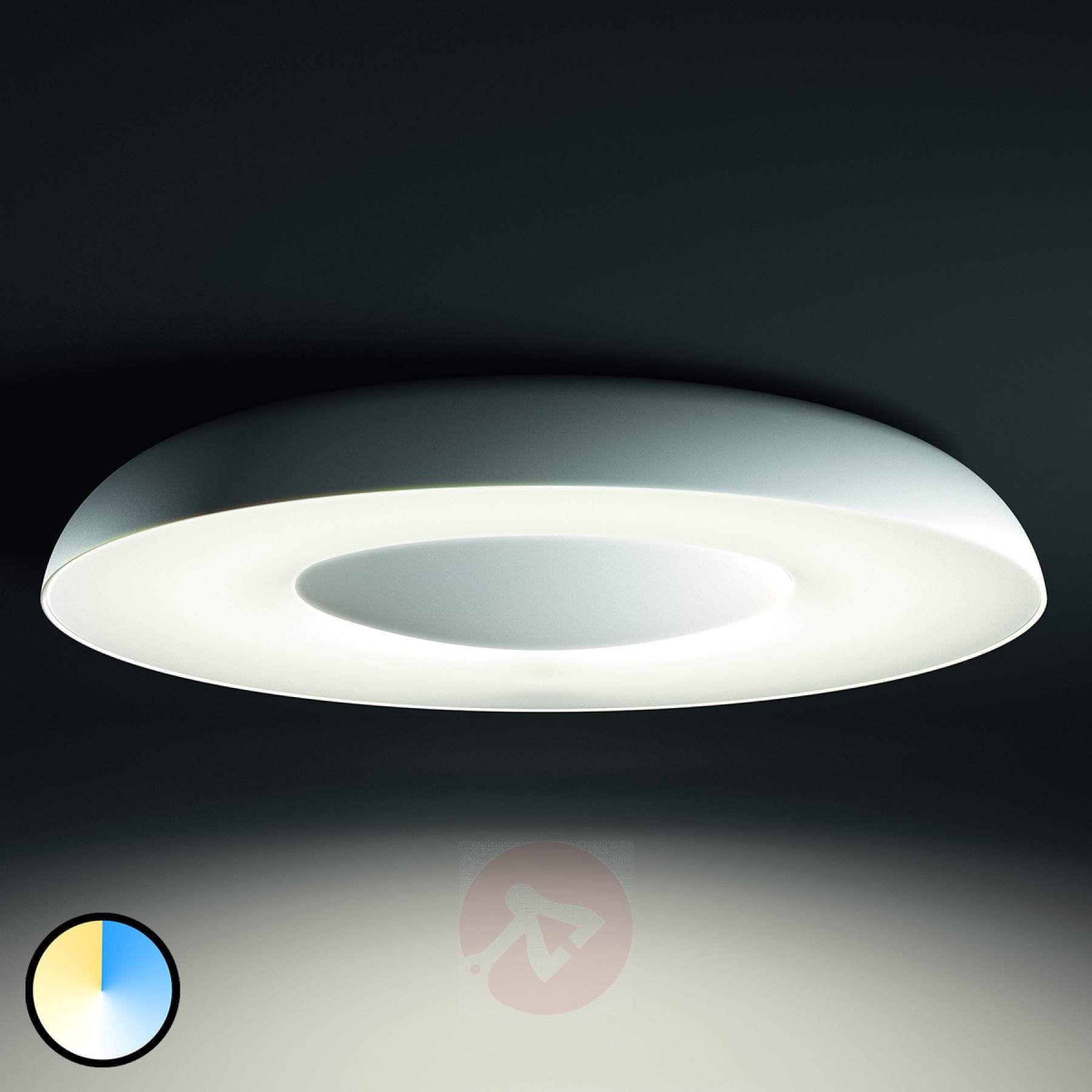 Philips Hue White Ambiance Still Deckenlampe Weiss Kaufen Lampenwelt De Deckenlampe Weiss Deckenlampe Badbeleuchtung