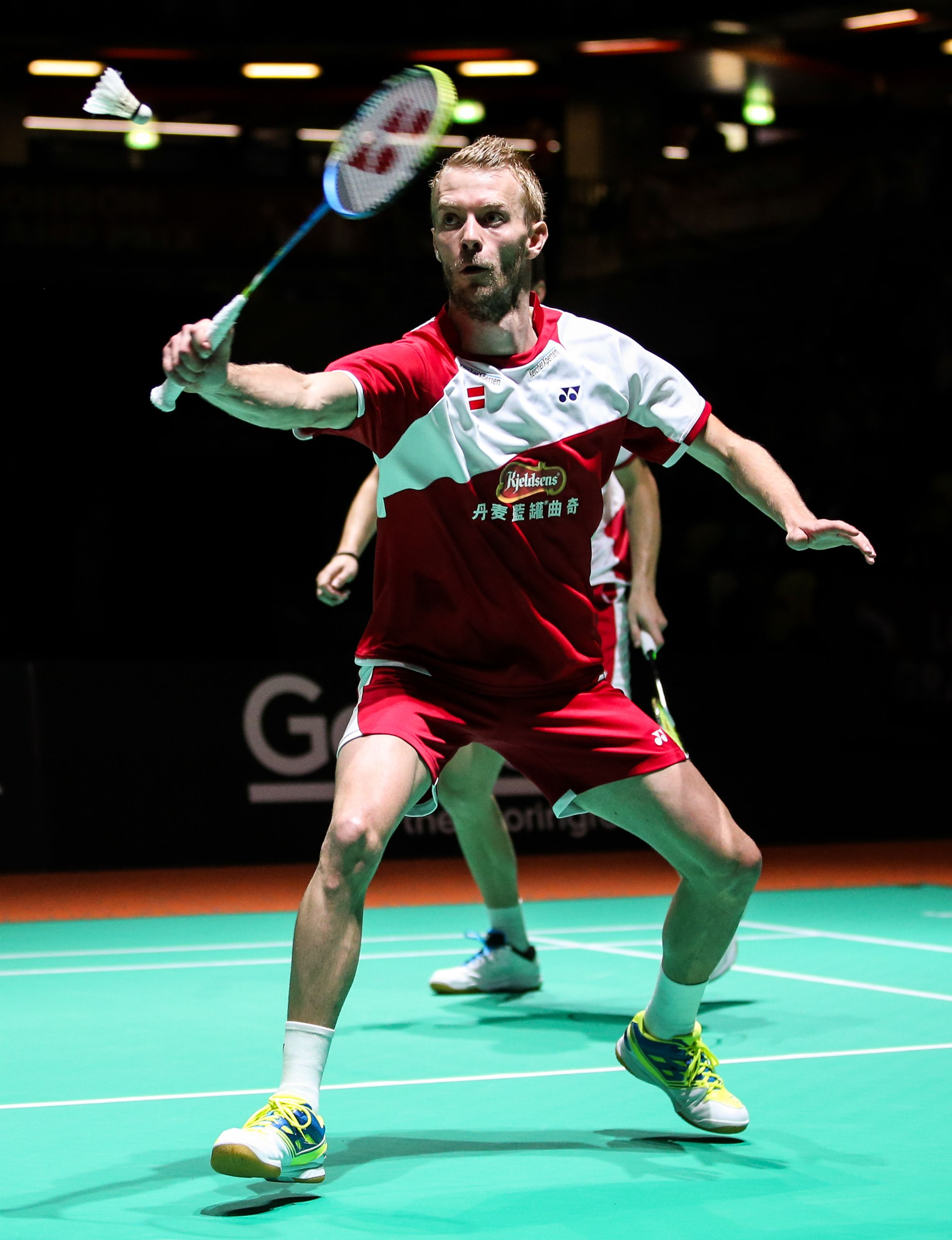 Carsten Mogensen ARCSABER FB plays a match in the London GPG