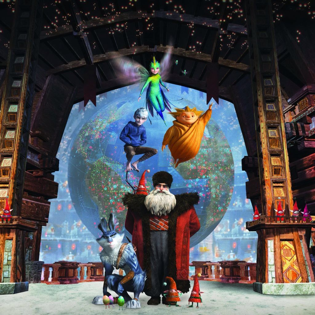 Jack Frost Sandy North Tooth Bunny Rise Of The Guardians