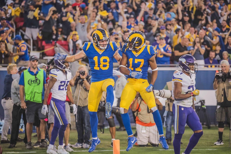 Los Angeles Rams by Ronnie Gallegos American football