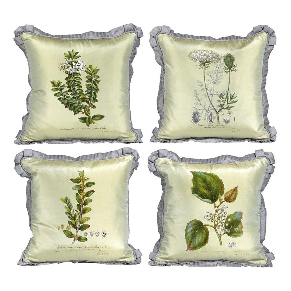 Curtis botanical silk pillows palm beach pinterest pillows