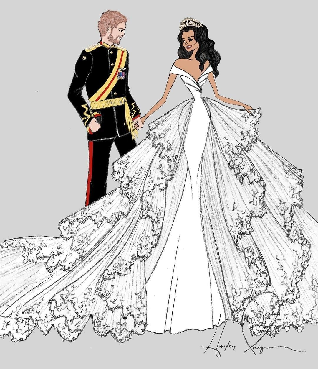 Meghan Markle's Wedding Dress Will (Probably) Look Like This