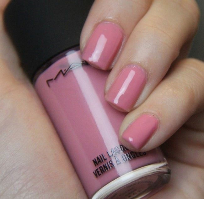 MAC Snob Click for review and more swatches | Nail Polish Designs ...