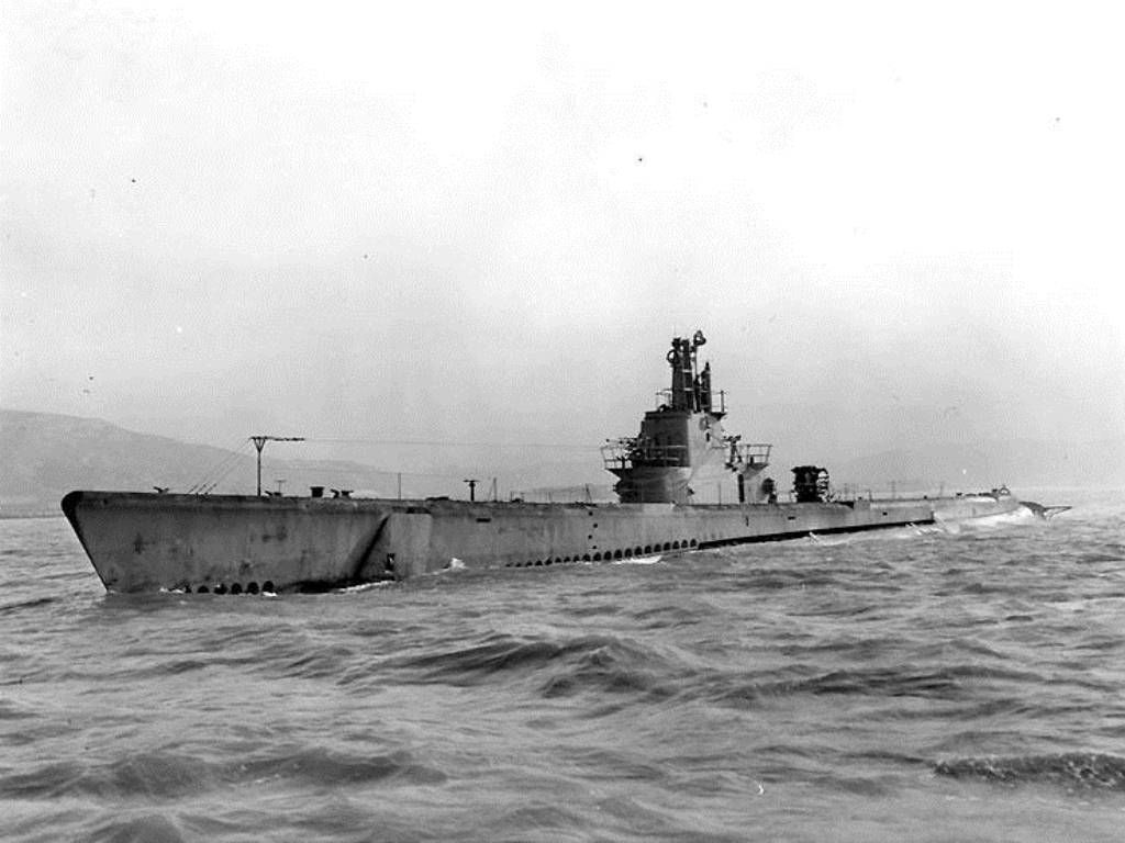 uss barb (ss-220) jul 02, 1945 -bombarded japanese