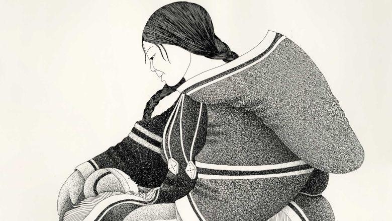 Inuk artist Germaine Arnaktauyok launches book in Yellowknife. My Name Is Arnaktauyok: The Life and Art of Germaine Arnaktauyok