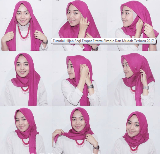 Tutorial Hijab Simple Ala Nissa Sabyan Tutorial Hijab Mudah
