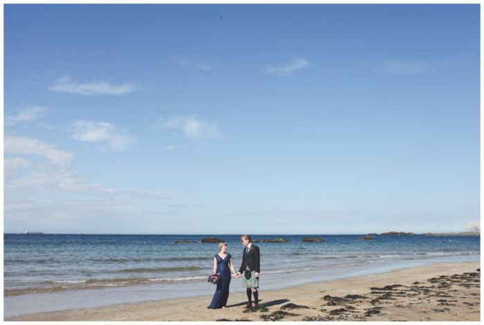 cool  A humanist hand-tying wedding on the beach in Scotland..  {Sally T Photography - Alternative Wedding Photographer..}