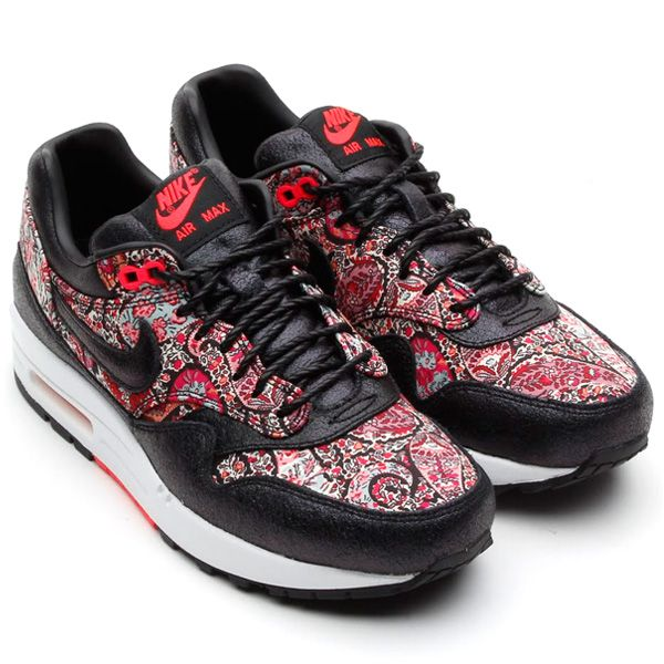 timeless design b55fd 182d6 ... Lib QS Liberty Burgundy Mango 540855 600 Size 7.5 New  NIKE AIR MAX 1  LIBERTY LONDON BLACK SOLAR RED WHITE ...