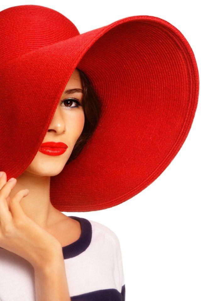 big red floppy hat  8959b6b72f8