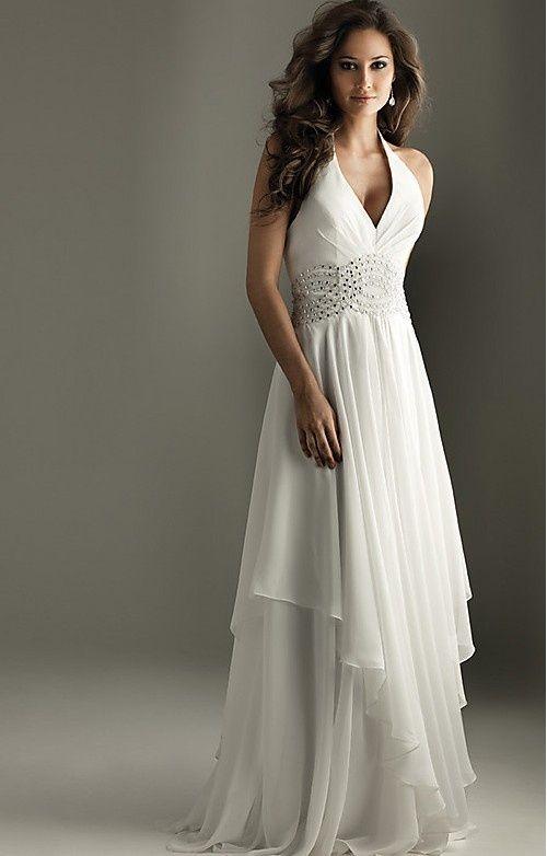 V-neck Halter Top Dress ED10011 [ED10011] - $370.00 : LuxeBlue ...