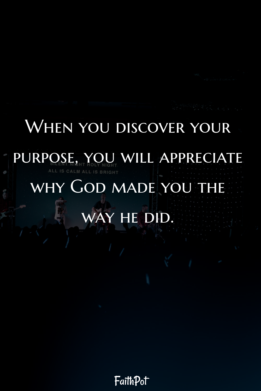 When you discover your purpose...