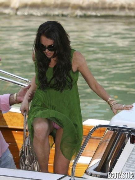 Lindsay lohan nude pics on the boat images