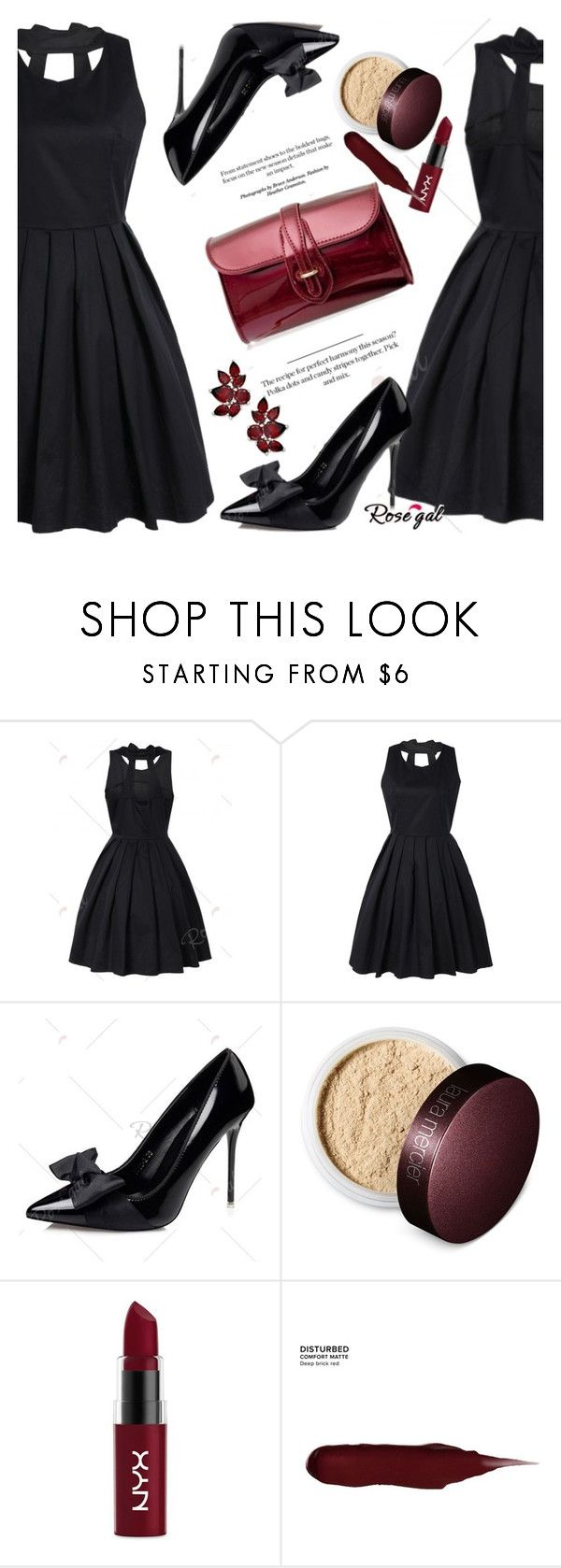 """""""ROSEGAL"""" by allanaaa11 ❤ liked on Polyvore featuring Laura Mercier, NYX, Urban Decay, Spring and polyvoreeditorial"""