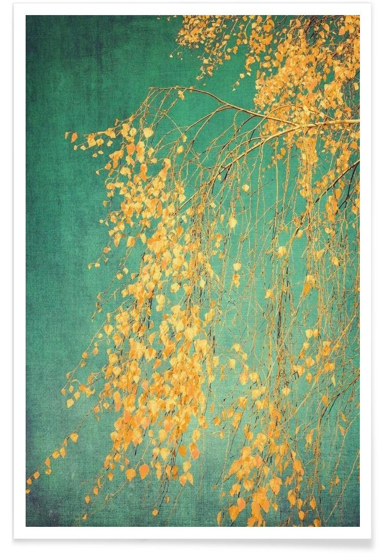 Whispers of Yellow VON Ingrid Beddoes now on JUNIQE! | Kunst ...