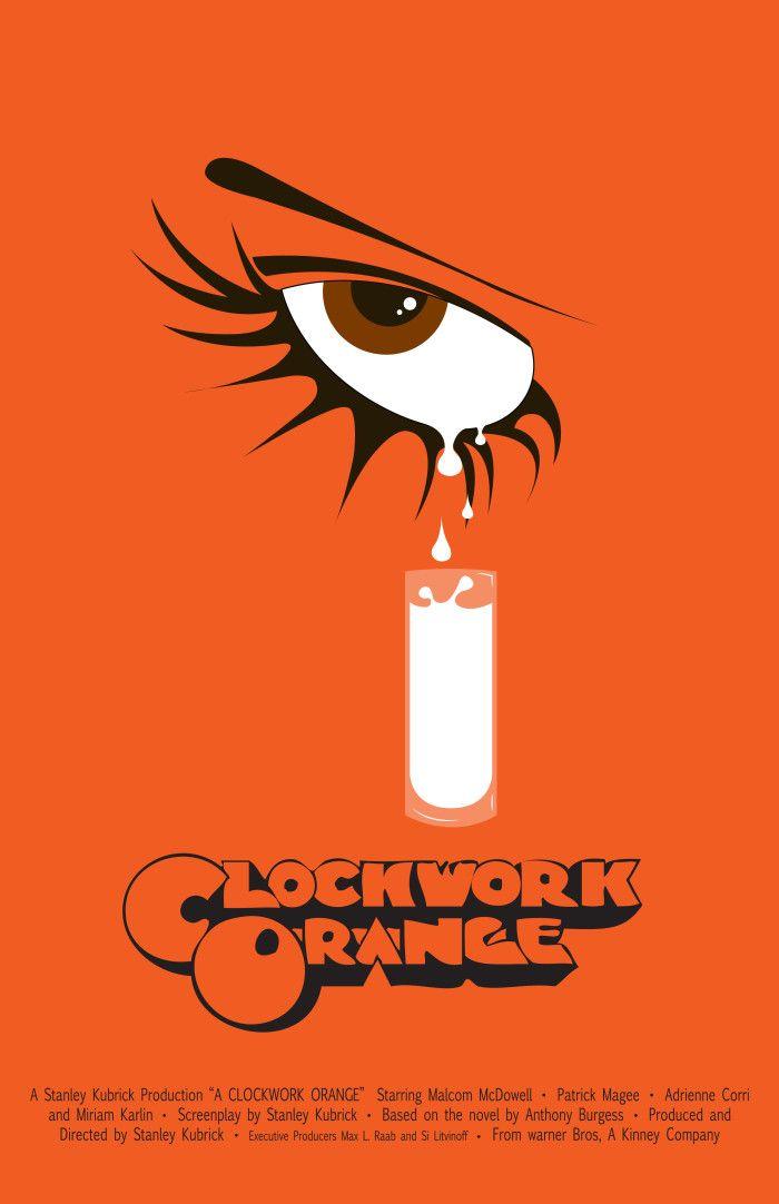 1971 Poster Reprint//Home Decor//Wall Decor//Wall Art Clockwork Orange