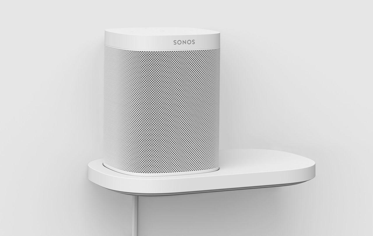 Sonos Shelf Fur Den One Und One Sl Sonos Regal Sonos Platzsparende Regale