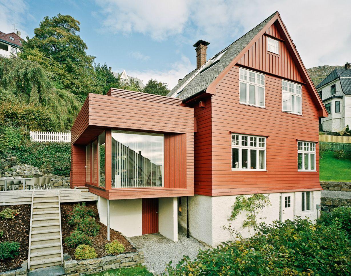 Todd Saunders Halvorsen Hansen House Addition Fall 1956 House Architecture Design Architecture Modern Architecture