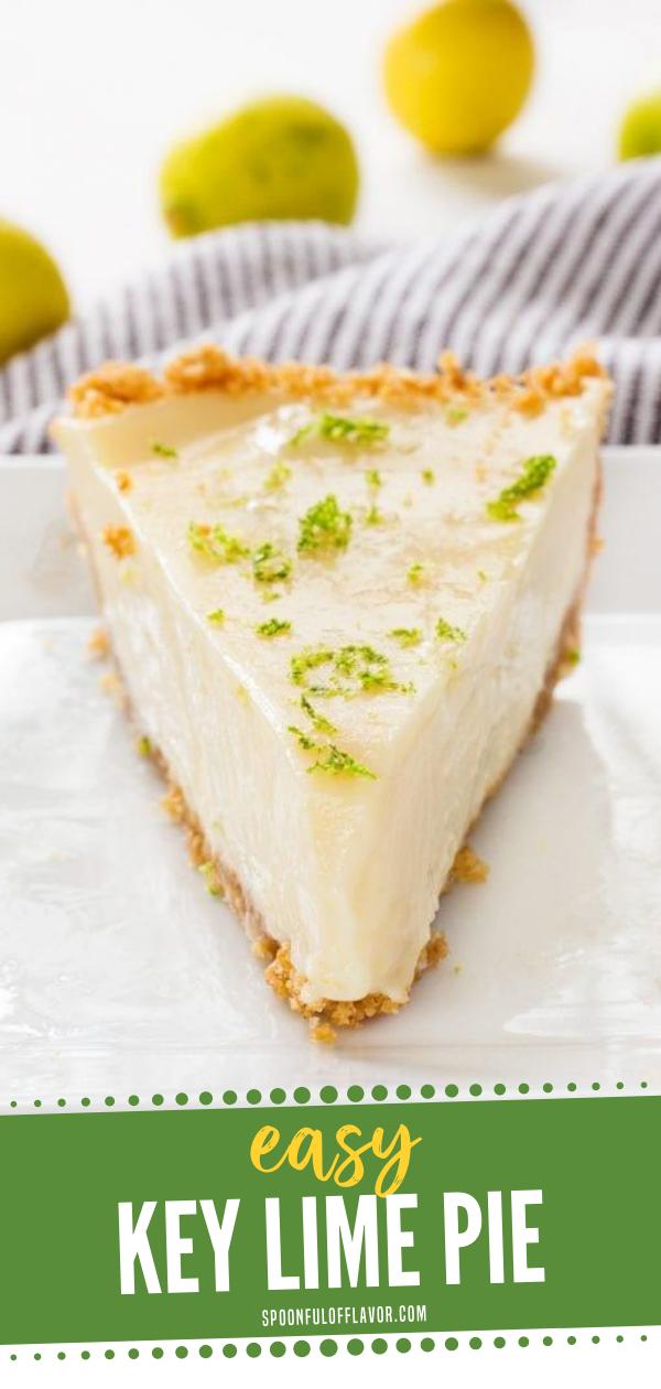 Easy Key Lime Pie Recipe In 2020 Key Lime Pie Easy Keylime Pie Recipe Easy Pie
