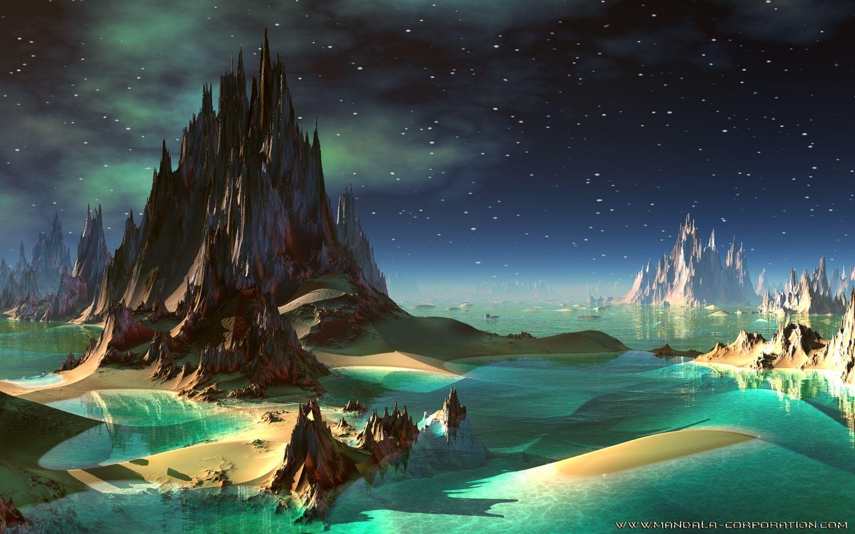 landscape backgrounds alien landscapes make great wallpapers