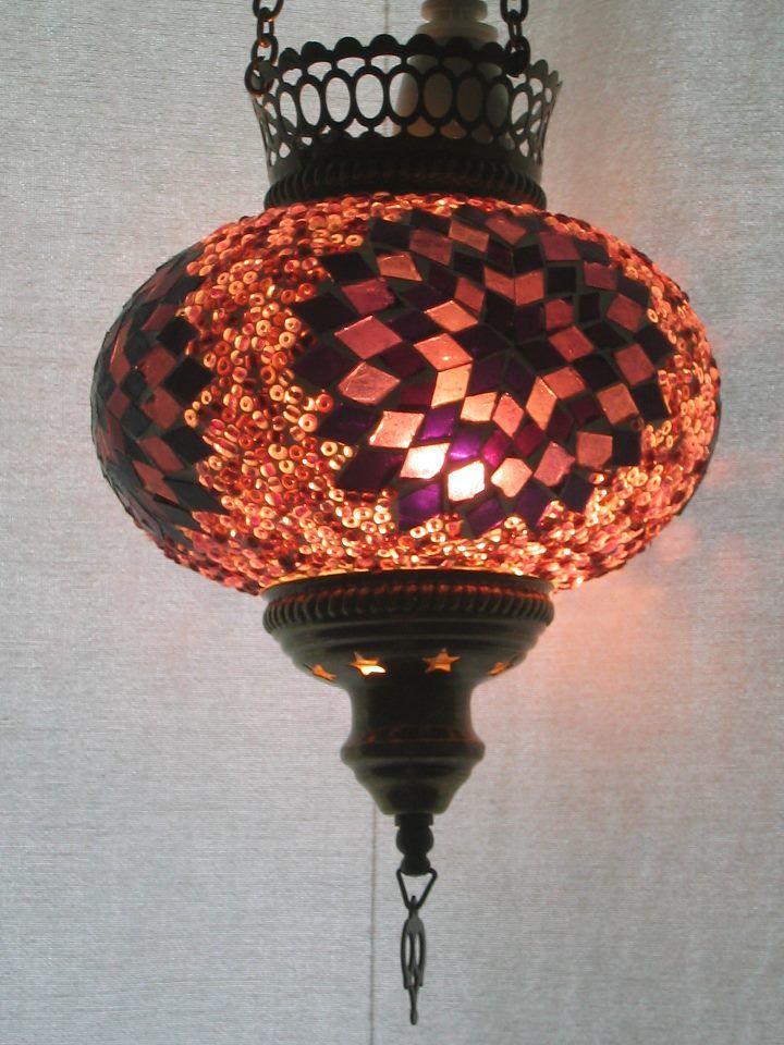Pin on Turkish Mosaic Lamps