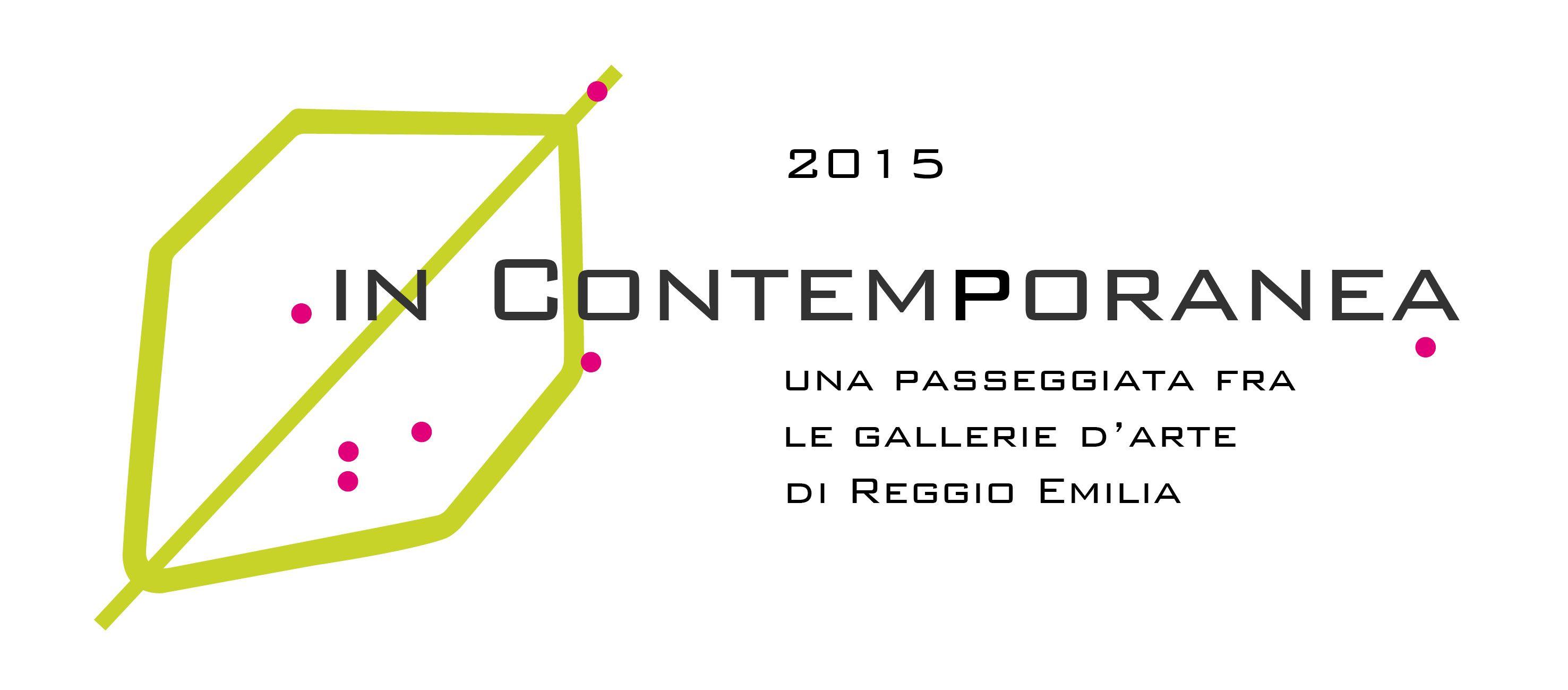 In Contemporanea: una passeggiata tra le gallerie d'arte di Reggio Emilia. Con il patrocinio del Comune di Reggio Emilia. #InContemporaneaRE