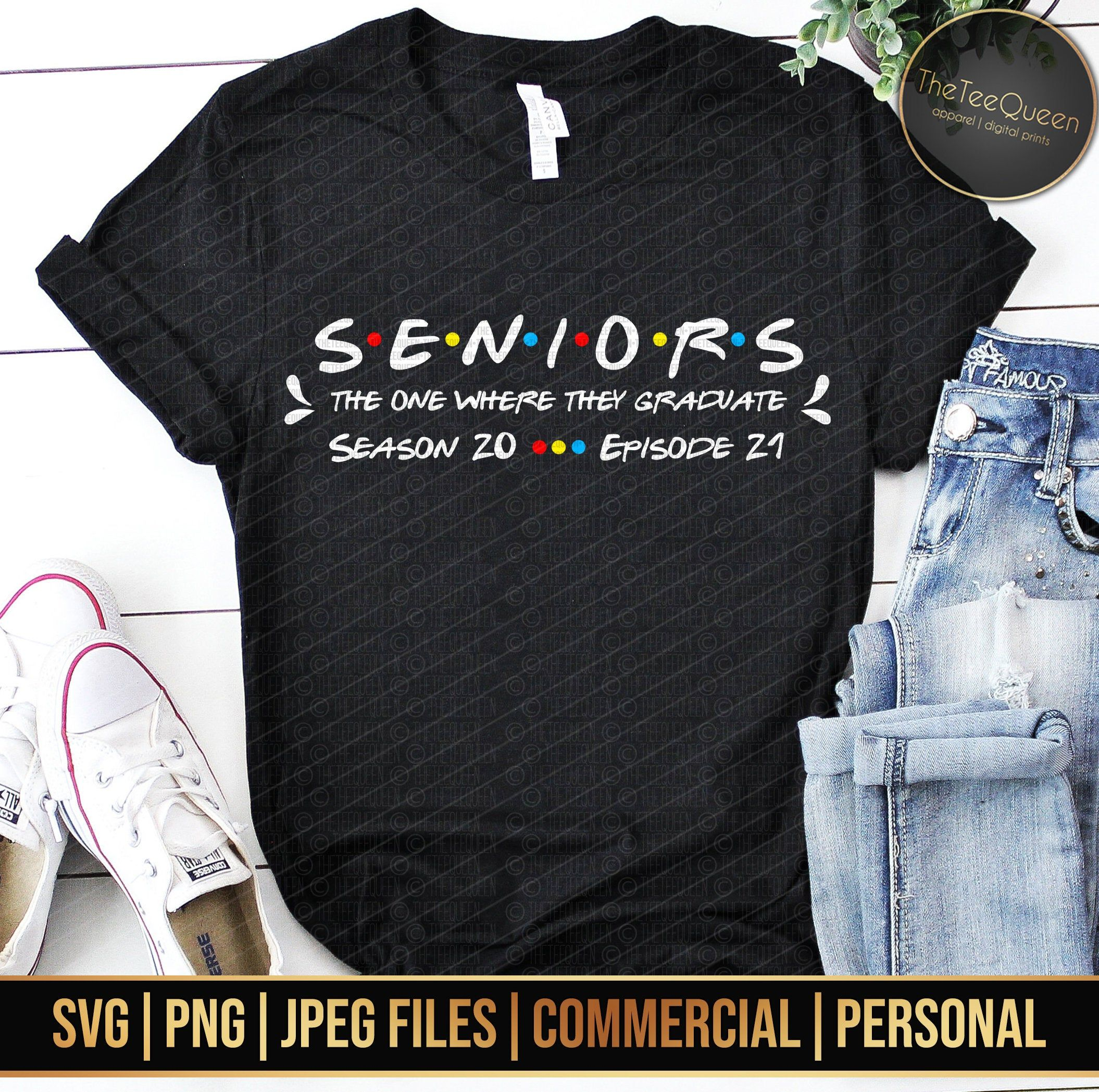Digital Download | Seniors The one where they grad