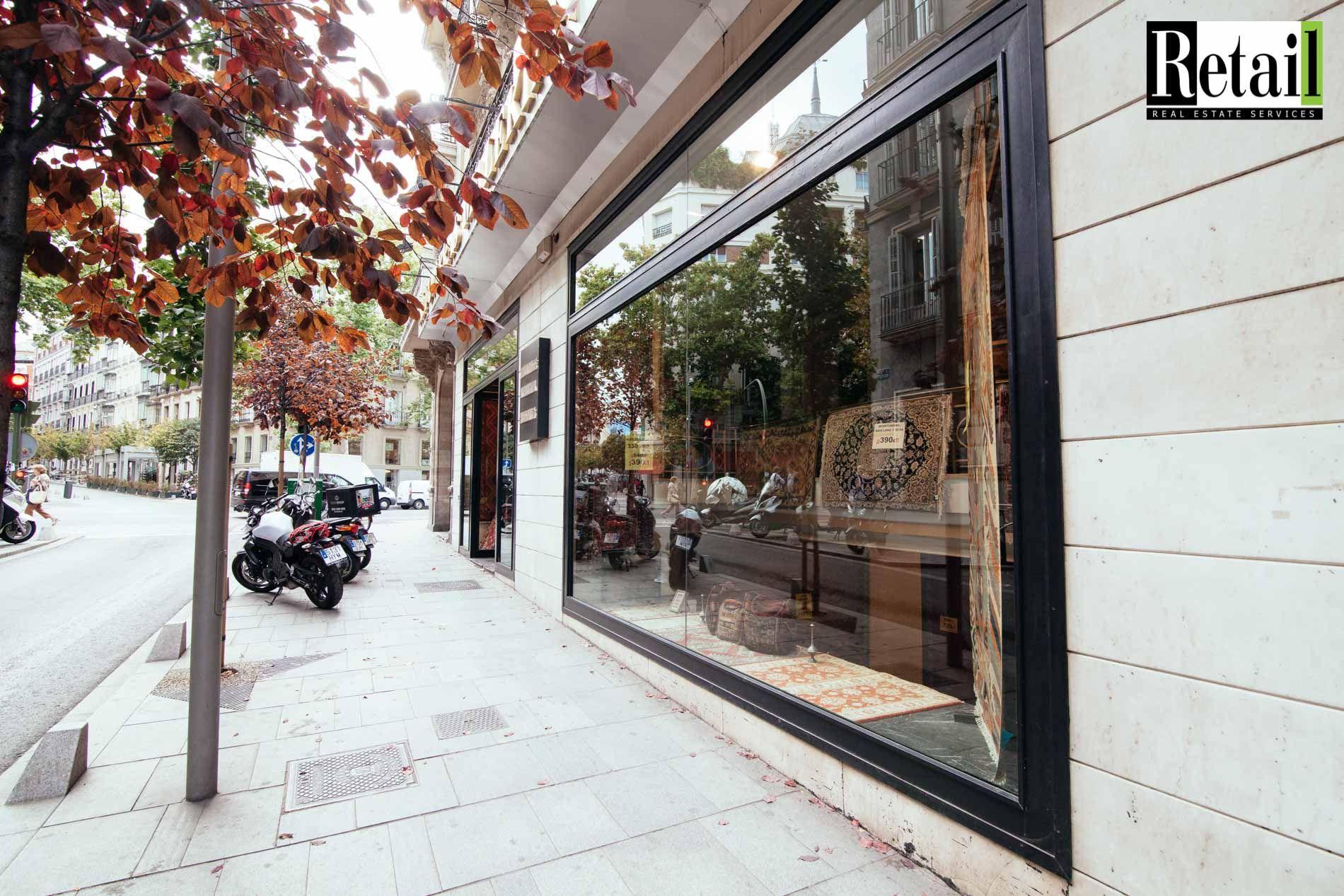 Local adquirido por Haig Club, Whisky de David Beckham, en calle Serrano.  Retail Real Estate Services