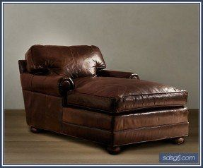 Neat Modern Leather Oversized Chaise Lounge Chair Design Idea See