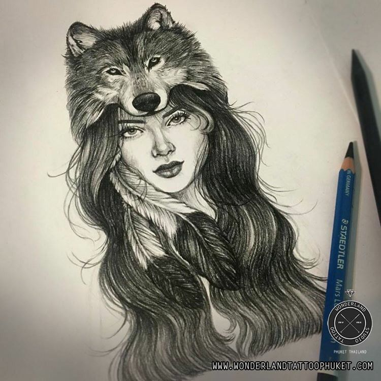 Tattoos Wolf Tattoos Headdress Tattoo: Tattoos, Wolf Tattoo Design