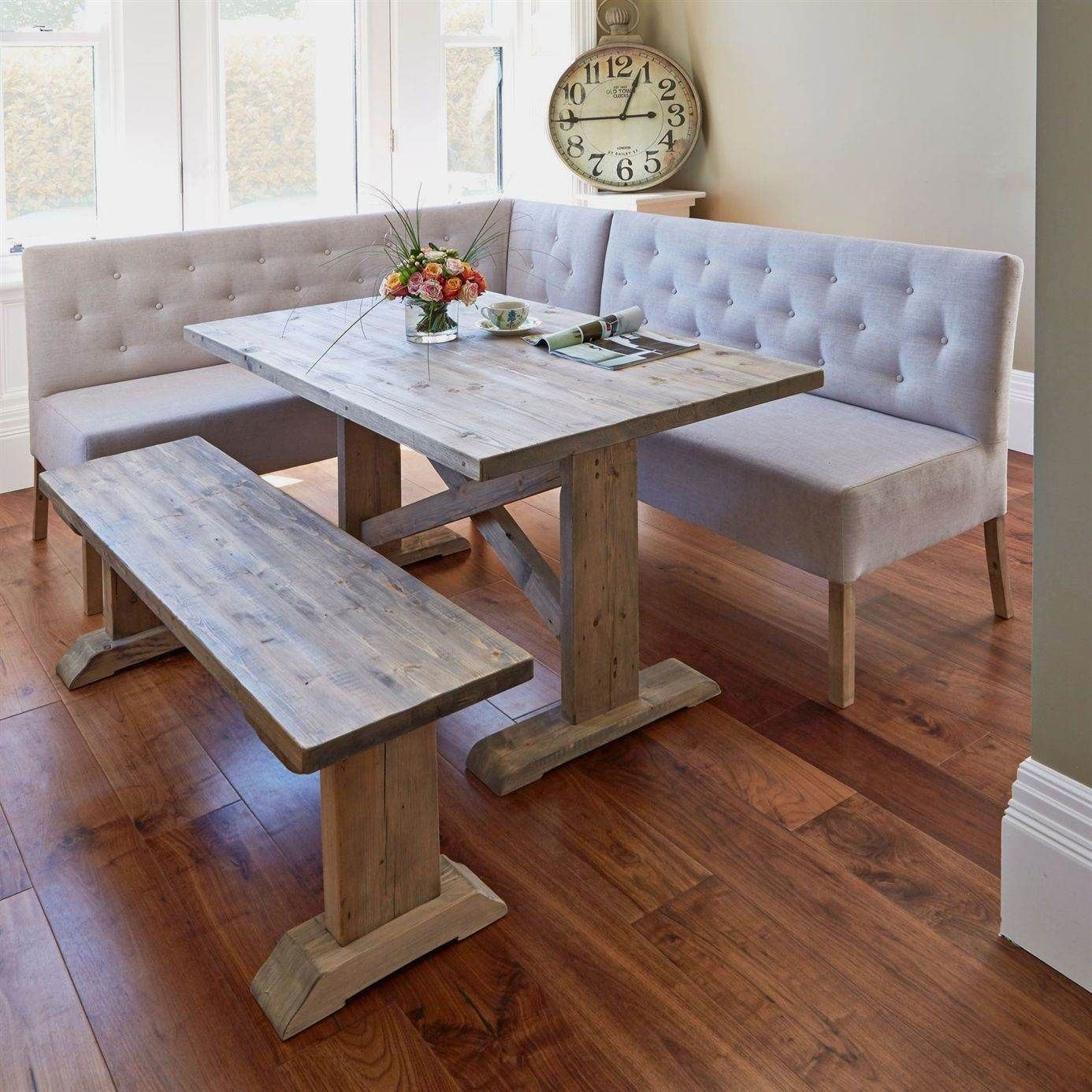 Dining Room Set With Booth Seating In 2020 Corner Dining Table Dining Room Small Kitchen Table Settings