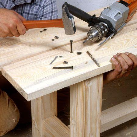 comment fabriquer un banc en bois massif projets. Black Bedroom Furniture Sets. Home Design Ideas